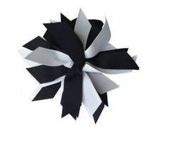 Ribbon Stripe Korker Bow