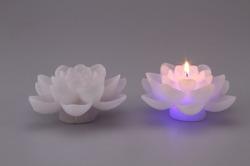 LED Flower Candle