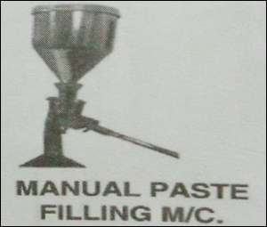 Manual Paste Filling Machine