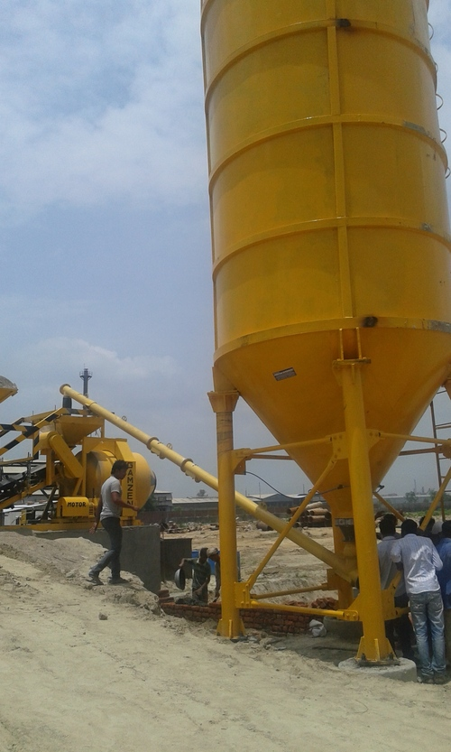 Cement Silo  in  New Area