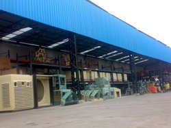Industrial Steel Sheds in  Hmt Main Road