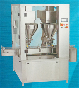 Dry Syrup Powder Filling Machine (Dryfill-60 Twin)