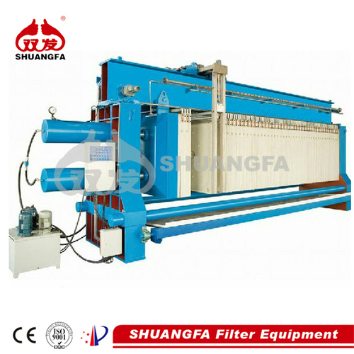 Automatic Washing Filter Press - Sludge Dewatering Machine