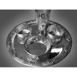 Silver Stylish Dinner Set