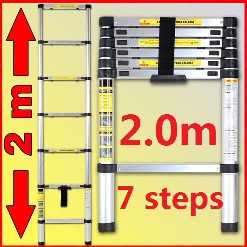 2m Telescopic Ladder