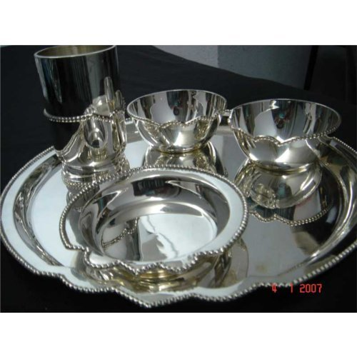 Traditional Silver Dinner Set