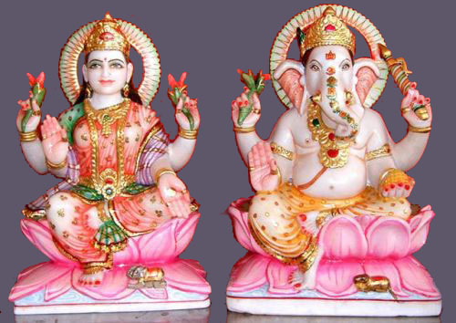 Image result for गणेश लक्ष्मी की मूर्ति