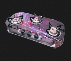 Three Burner Platino Auto Stove (PL-4)