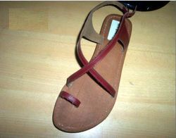Womens Leather Chappal