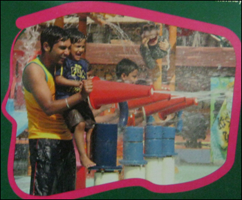Waterzooka Con Shaped Water Guns