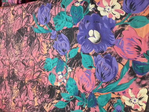 Printed Rayon Cloth