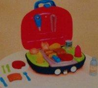 Toy Bbq Play Set