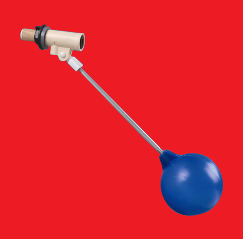 Float Valve With Rod And Ball