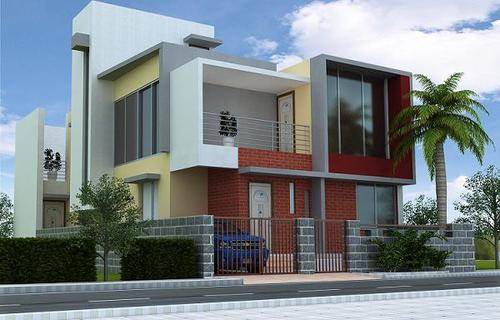 Modern Bungalow Architectural Service In Satellite