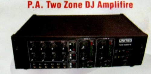 P.A Two Zone Dj Amplifier