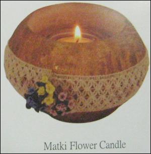 Matki Flower Candles