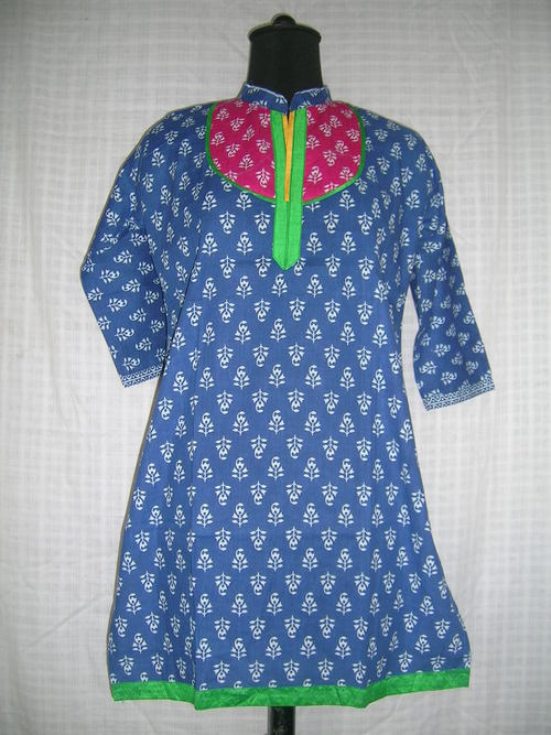 Cotton Printed Kurtis in  Murlipura