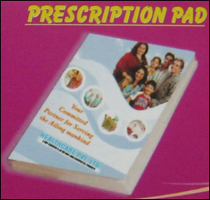 Prescription Pad Printing Services