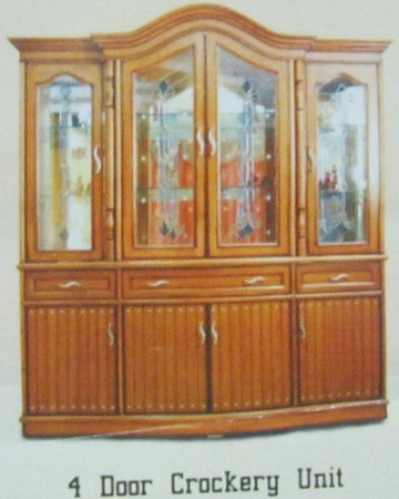 4 Door Crockery Unit