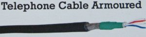 Telephone Cable Armoured