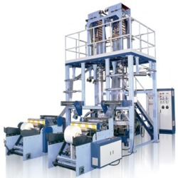 Industrial Twin Film Blowing Extruder Machine
