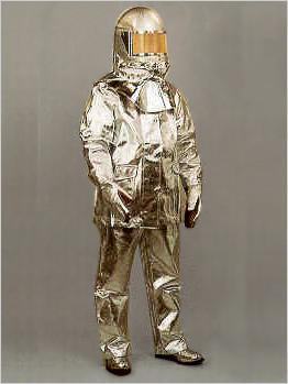 Aluminised Fire Proxy Suit