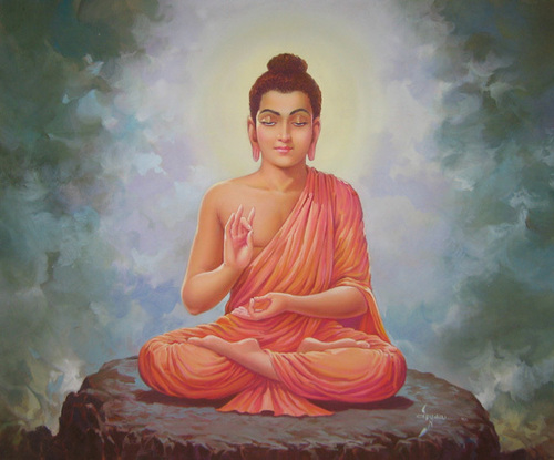 Lord Buddha in   Rewas Davda Road