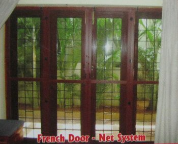 french door mosquito net system in hyderabad telangana On mosquito net for french doors