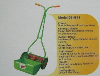 Wheel Type Manual Lawn Movers(00/871) in  Aman Nagar