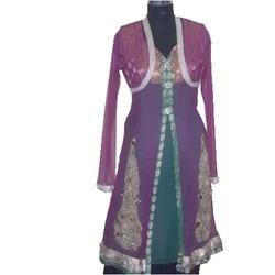 Ladies Designer Frock Suits