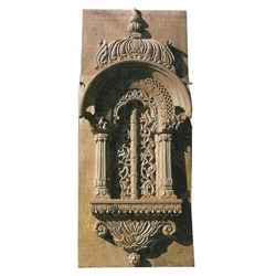 Eye Catching Sandstone Jharokha in  Tonk Road