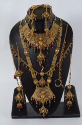 Bridal Polki Necklace Set (OR-02)