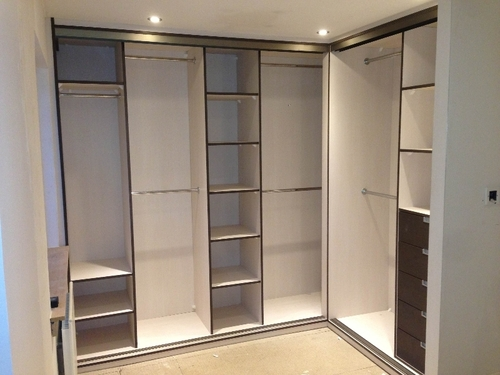 L Shape Wardrobe With Loft Design In Tharamani Chennai