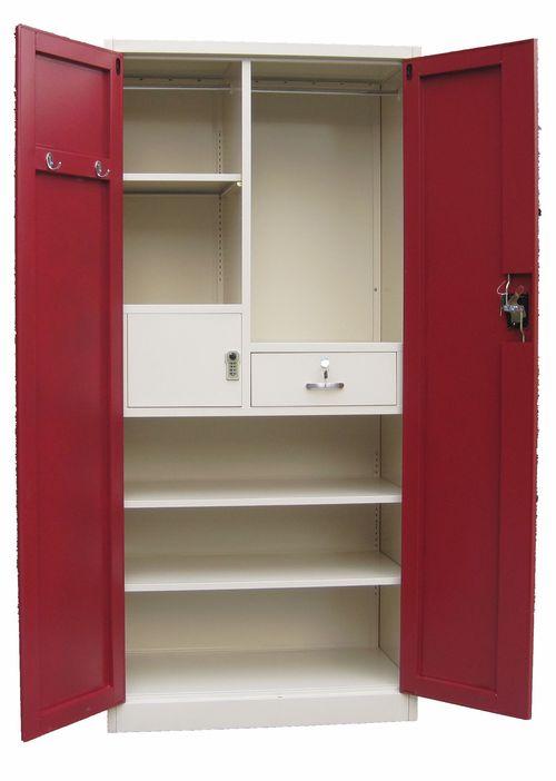 Customize Metal Wardrobe Closet