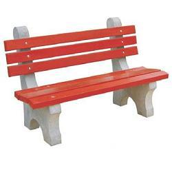 Concrete Chair Bench