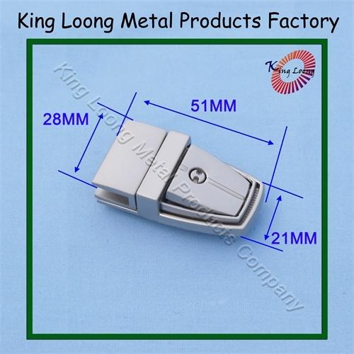 Handbag Metal Lock