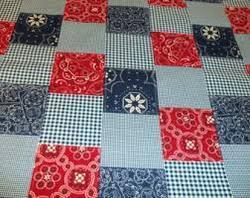 Square Patchwork Fabric