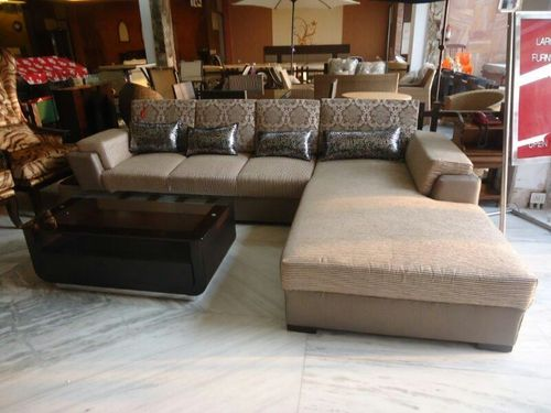 L Shaped Sofa In Whs Kirti Nagar New Delhi KRISHNA KIRTI FURNITURE