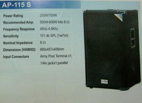Loudspeaker System (Ap-115 S)