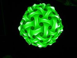 Green Decorative Lamp Shade in  Manjalpur (Vdr)