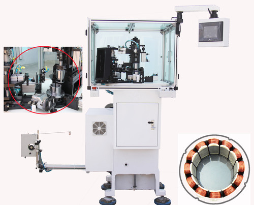 BLDC Stator Winder Needle Winding Machine