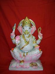 Ganesha Statue in   Opposite Vedant Mandir