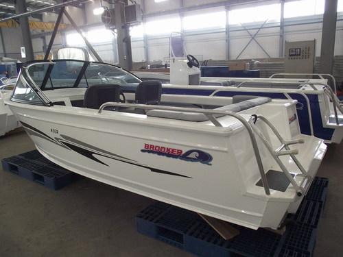 Aluminum Runabout Boat In Longkou