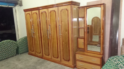 Wooden double bed in b g road sibsagar manufacturer - Stylish almirah for room ...
