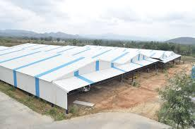 Shed Construction with Galvanized Iron sheets