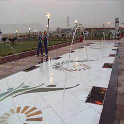Laminar Jet Fountain in  Janakpuri