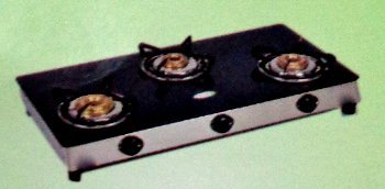 Glass Top 3 Burner Gas Stove (GGS103)