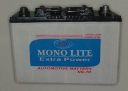 Low Maintenance Automotive Battery (NS-70) in  HSIIDC Barhi Industrial Area