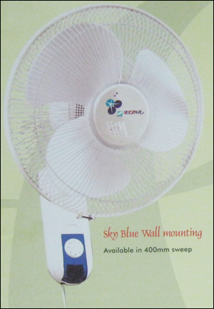 Sky Blue Wall Mounting Fan