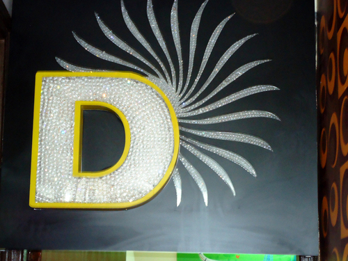 diamond crystal letters